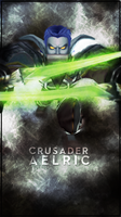 Aelric Phone Background by Ayriela