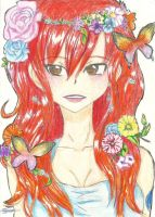 butterfly Erza by MidnightlityDreams