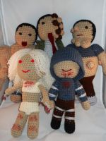 Left4Dead Bloody Infected Set by Crittercre8r