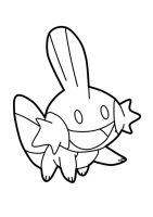 line :  pokemon Mudkip 2014 by darshan2good