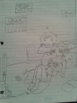 Me and Allie by Takua1st