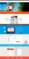 App Template Web Design by vasiligfx