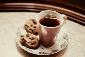 cookies and tea II by LyraWhite