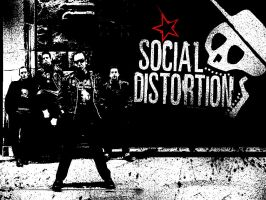 Social Distortion by RattWallpapers