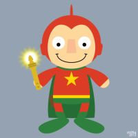Almost Daily Characters: Starman by striffle