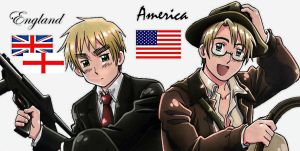England and America Hero Form by em11