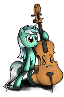 Lyra with minor Touches by Tetrapony
