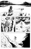 Relic and Ego#5 PAGE8 inks by MatiasSoto