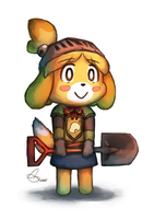 Knight Isabelle by brandon-chung