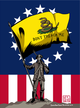 Don't Tread On Me by SouthParkTaoist