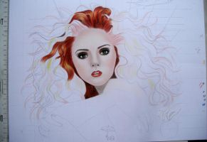 Draw-along WIP 1 by AngelasPortraits