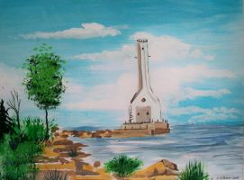 Huron lighthouse 2 by TomKilbane