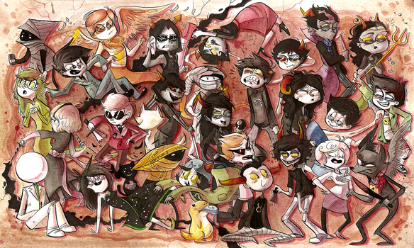 homestuck by Zeddyzi