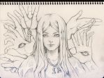Open your eyes / Sketch by Phoenix-zhuzh