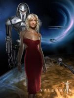 Caprica Six by Valerhon