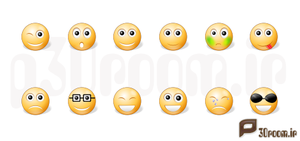 IconTexto_Emoticons by p30room