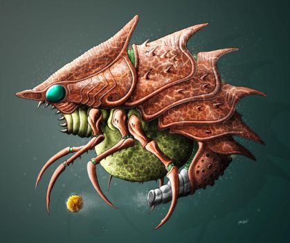 MDB Bestiary: Evir-X by Methuselah3000