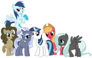My Little Stallions by Shadowhedgiefan91