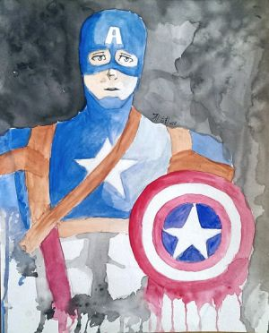 Captain America by YouJustGotAnimated