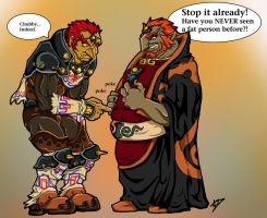 Manondorf vs Chubbydorf by polvottish