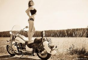 Time to ride II by Elfvingphotography
