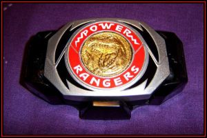 MMPR Morpher buckle by morgan-lamia