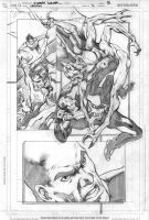 Legion 7 page 15 pencils by Cinar