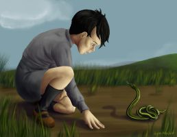 Day 6 - Tom Riddle by hyenacub