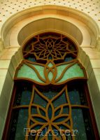 Shaykh Zayd Mosque - Window I by Teakster