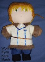 Wolfram Winter Plushie by snowtigra