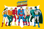 The Filmation JLA by Xag