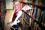 Touhou: Little Library Devil by OztheNekoMaster