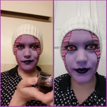 First Form Frieza - Makeup Test by Shadow-Industries
