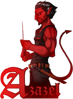 Azazel by Toxandreev