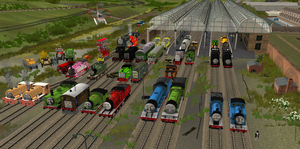 Trainz Thomas and Friends Promo by lbbrian