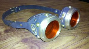 Goggles Steampunk by IXEL-Manufacture