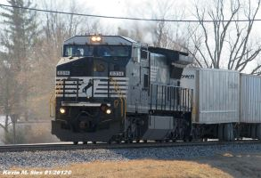 Ex Conrail leads NS 240 by EternalFlame1891