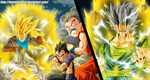 DragonBall AF - Xicor vs Trunks Vegita and Krillin by HomolaGabor
