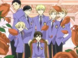 New Ouran Host Club by XxGerardWayyxX