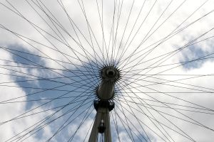 London Eye - Spin by Aqua-Designs
