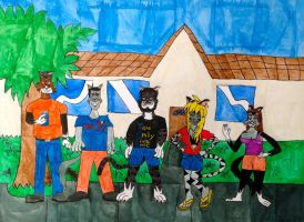 the Roten Cats by BARproductions
