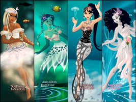 Four Elements - All Water by AzaleasDolls