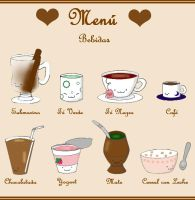cute menu by VioletLunchell
