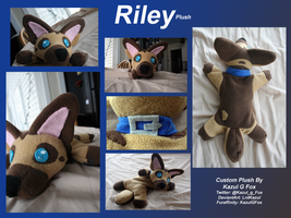 riley plush by Kazulgfox