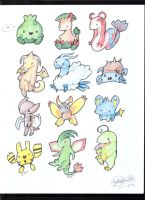 Chibi Pokemanz Batch 1