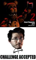 Five Nights at Freddy's 2 Challenge accepted by ThisIsGR