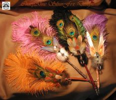 GYPSY SERENADE Feather Pens by ChaeyAhne