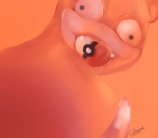 Slowpoke by Celesime