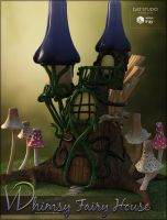 Whimsy Fairy House by cosmosue