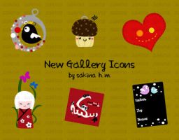 Gallery Icons by ChocoAng3l
